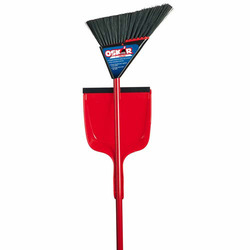Oskar Super Angle Pro Broom with Dustpan