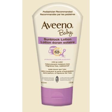 Aveeno Baby Sunscreen Lotion