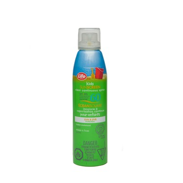 Life Brand Kids Continuous Spray Sunscreen