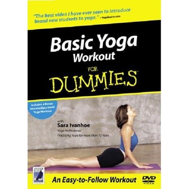 Basic Yoga Workout for Dummies DVD