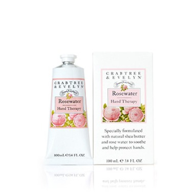 Rosewater Hand Therapy Cream