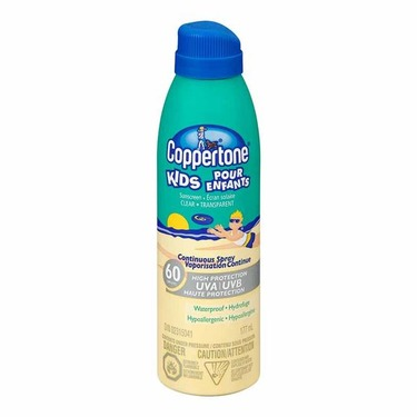 Coppertone Kids Continuous Spray Clear Sunscreen SPF 60