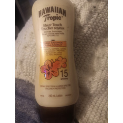 Hawaiian tropic Sheer Touch Sunscreen SPF 15