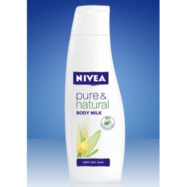 NIVEA Pure & Natural Body Milk