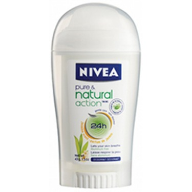 NIVEA Pure & Natural Action Deodorant