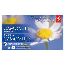 President's choice camomile tea