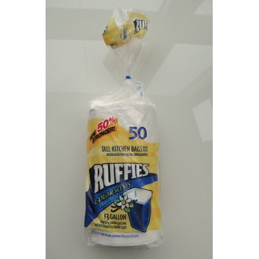 Ruffies Color Scents Garbage Bags in Vanilla