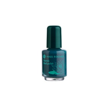 Yves Rocher Deep Green Nail Polish