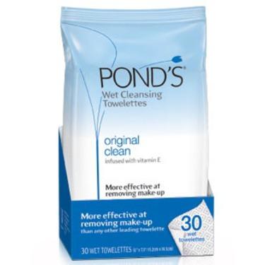 Ponds Original Clean West Cleansing Towelettes