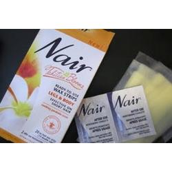Nair Tahitian Bloom Wax Strips for Legs and Body