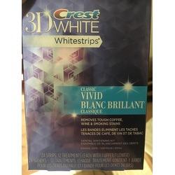 Crest 3D White Whitestrips 2-hour Express