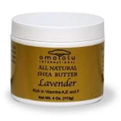 Omololu International All Natural Shea Butter Lavendar