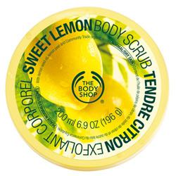 The Body Shop Sweet Lemon Body Scrub