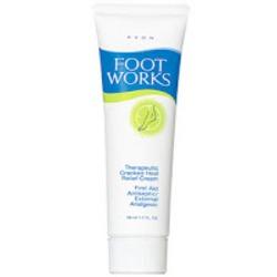 Avon Foot Works Cracked Heel Relief Cream