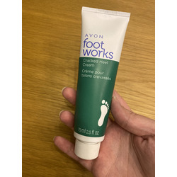 Avon Foot Works Cracked Heel Relief Cream