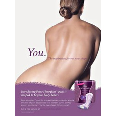 Poise Hourglass Pads