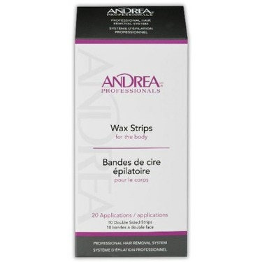 Andrea Professionals Body Wax Strips