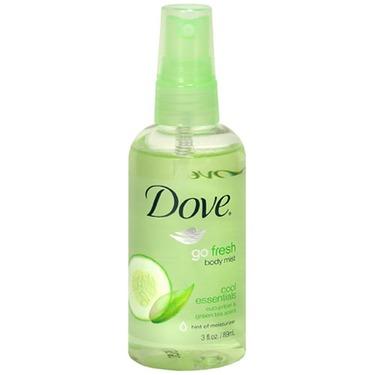 Dove Go Fresh Body Mist Cucumber & Green