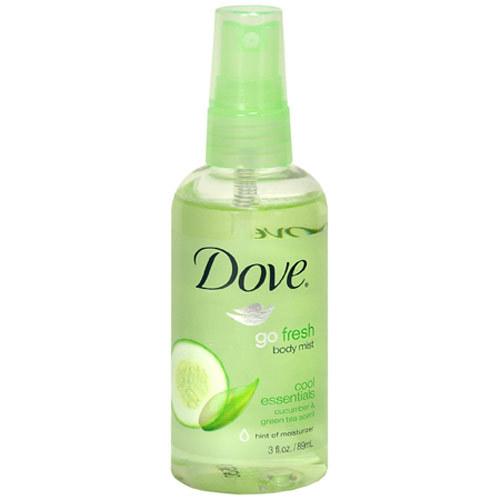Dove Fresh Body Mist Cucumber Green