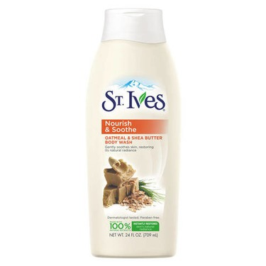 St. Ives Oatmeal & Shea Butter Hydrating Body Wash
