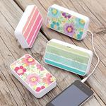 PbTeen Tropical Floral Must-Have Mini Speakers