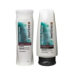 Pantene Medium-Thick Breakage to Strength Shampoo and Conditioner