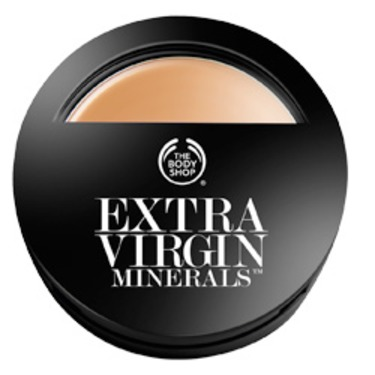 The Body Shop Extra Virgin Minerals Cream Compact Foundation