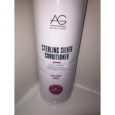 AG Sterling Silver Shampoo & Conditioner