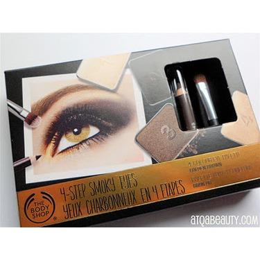 The Body Shop 4 Step Smoky Eyes 4 Colour Eye Palette