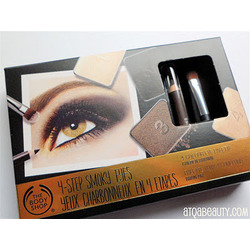 The Body Shop 4 Step Smoky Eyes 4 Colour Eye Palette