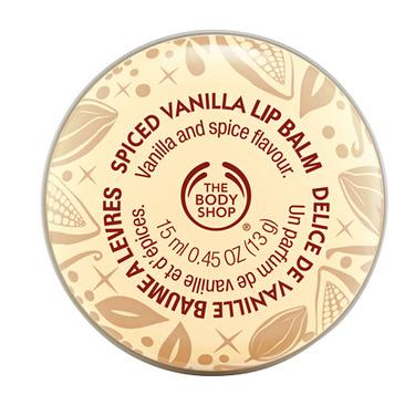 The Body Shop Spiced Vanilla Lip Balm