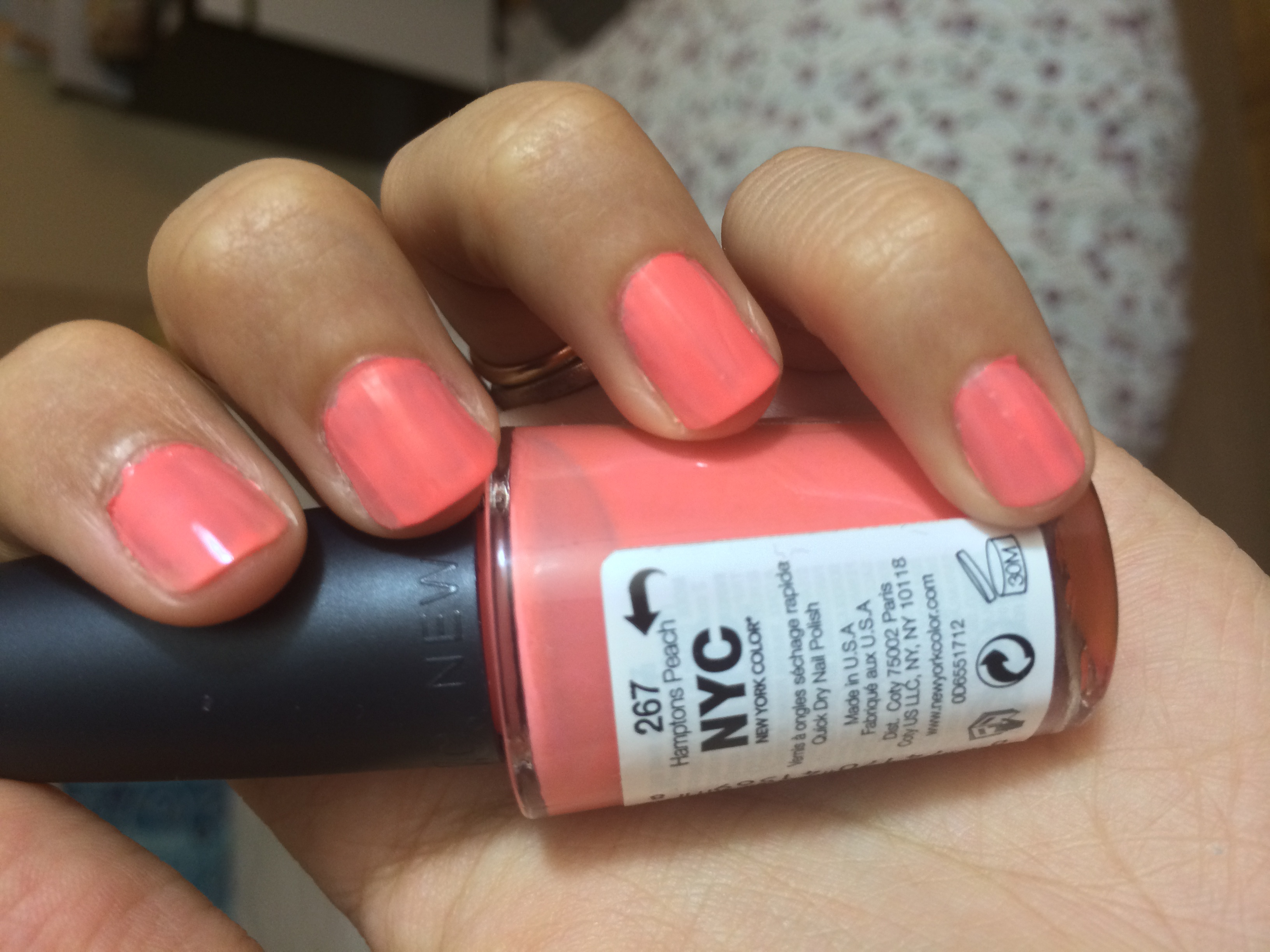 NYC New York Color in a Minute Quick Dry Nail Polish reviews in Nail ...