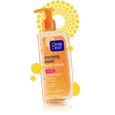 Clean & Clear Morning Burst Scrub with Bursting Beads