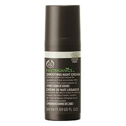 Body Shop Nutriganics Smoothing Night Cream