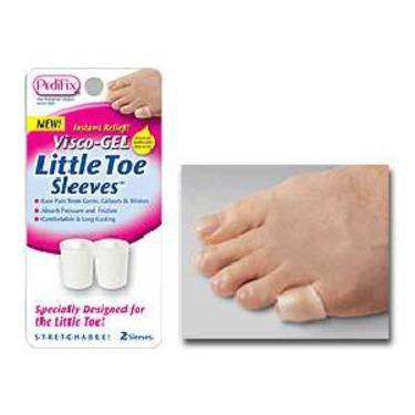 Visco Gel Little Toe Sleeves