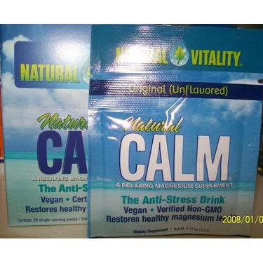 Natural Calm Magnesium Citrate Powder