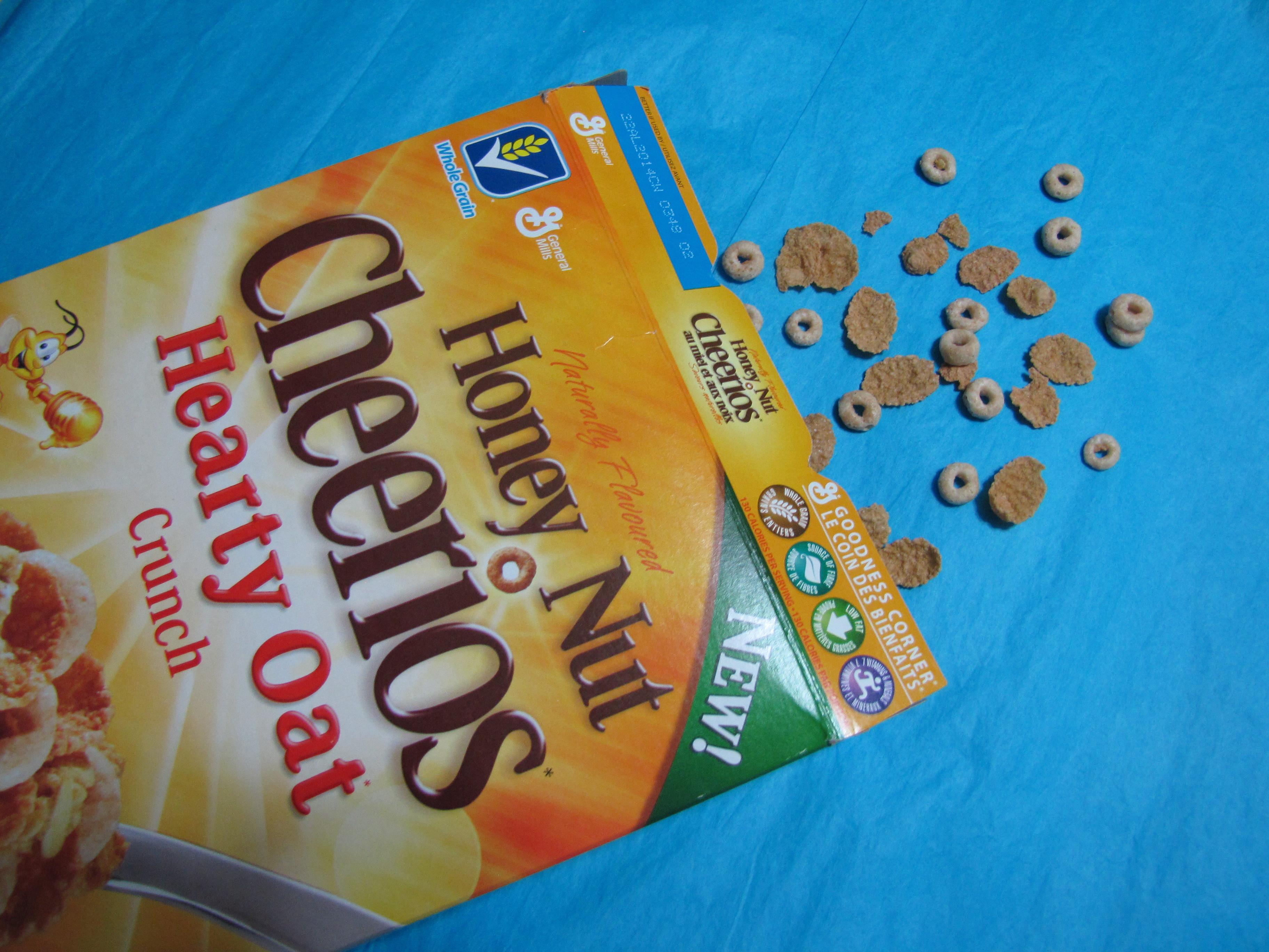 you already do honey nut cheerios ice cream honey nut cheerios add ...