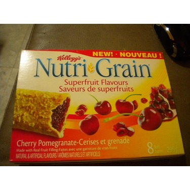 Nutri-Grain Bars Superfruit Flavours