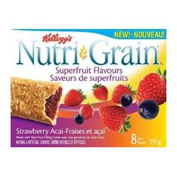 Nutri-Grain Bars Superfruit Flavours