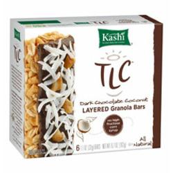 TLC Layered Granola Bars Dark Chocolate Coconut