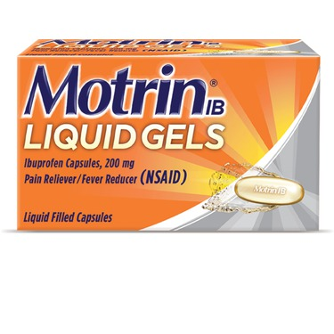 MOTRIN Liquid Gels Regular Strength