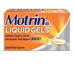 MOTRIN Liquid Gels Regular Strength