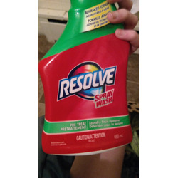 Resolve Spray and Wash