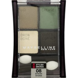 Maybelline ExpertWear Eye Shadow Quad in Emerald Smokes