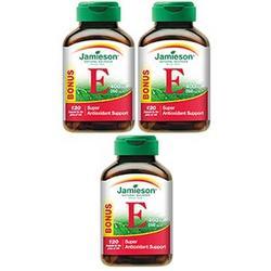 Jamieson™ Vitamin E 400 IU 3-pack