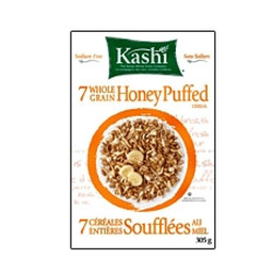 Kashi 7 Whole Grain Honey Puffed cereal