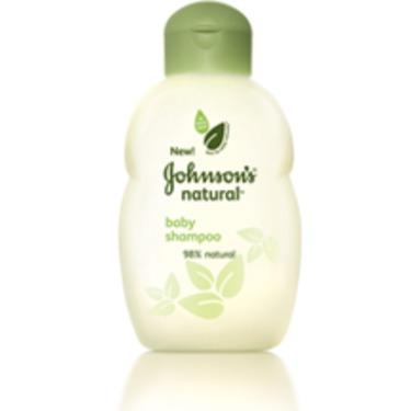Johnson's Natural Baby Shampoo