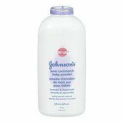 Johnson's Pure Cornstarch Baby Powder with Calming Lavender & Chamomile