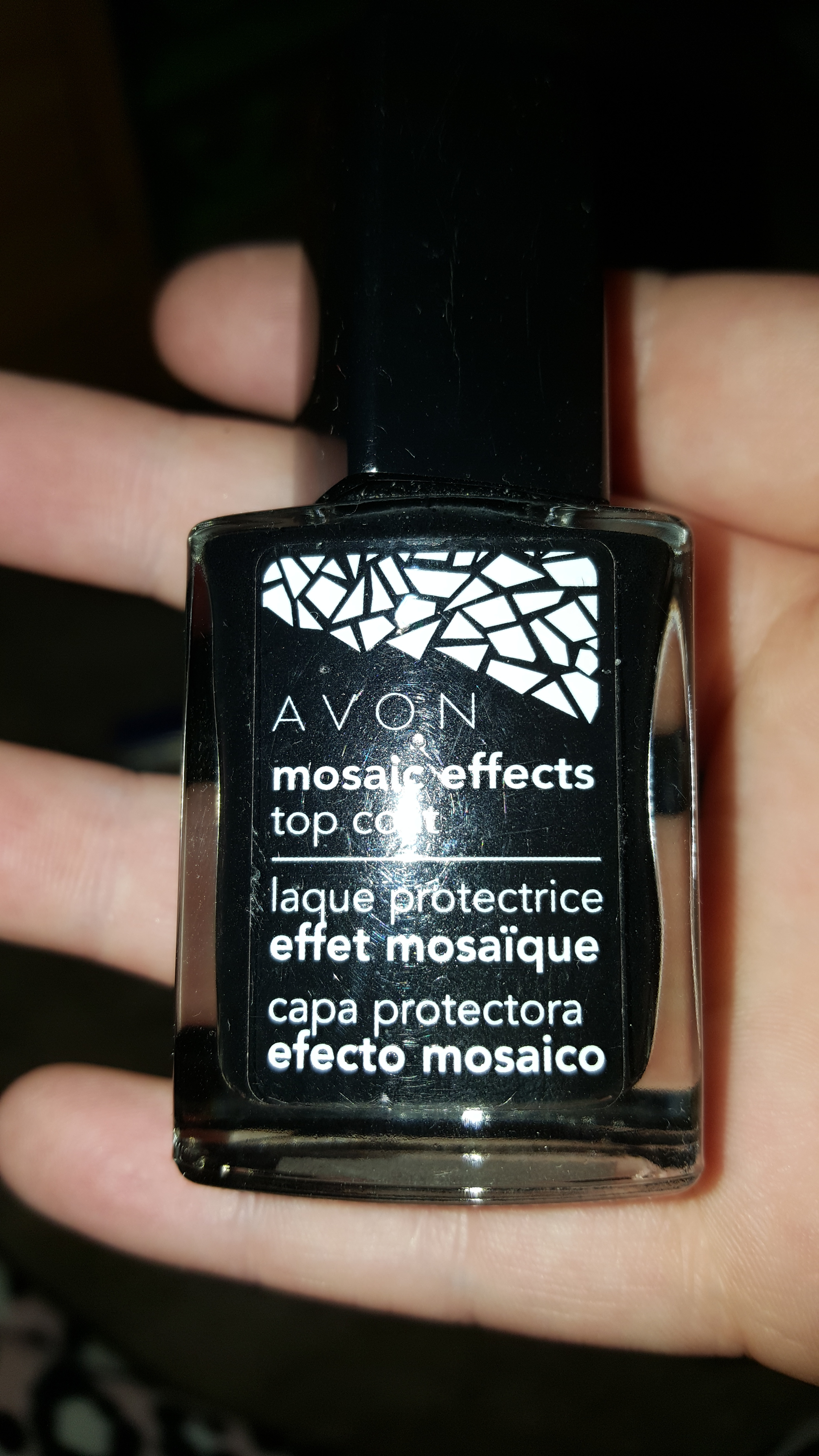 Avon Mosaic Effects Top Coat Reviews In Nail Polish Chickadvisor