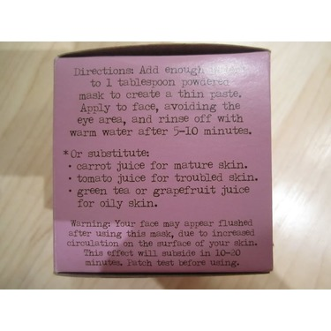 Burt's Bees Pore-Refining Mask with French Clay